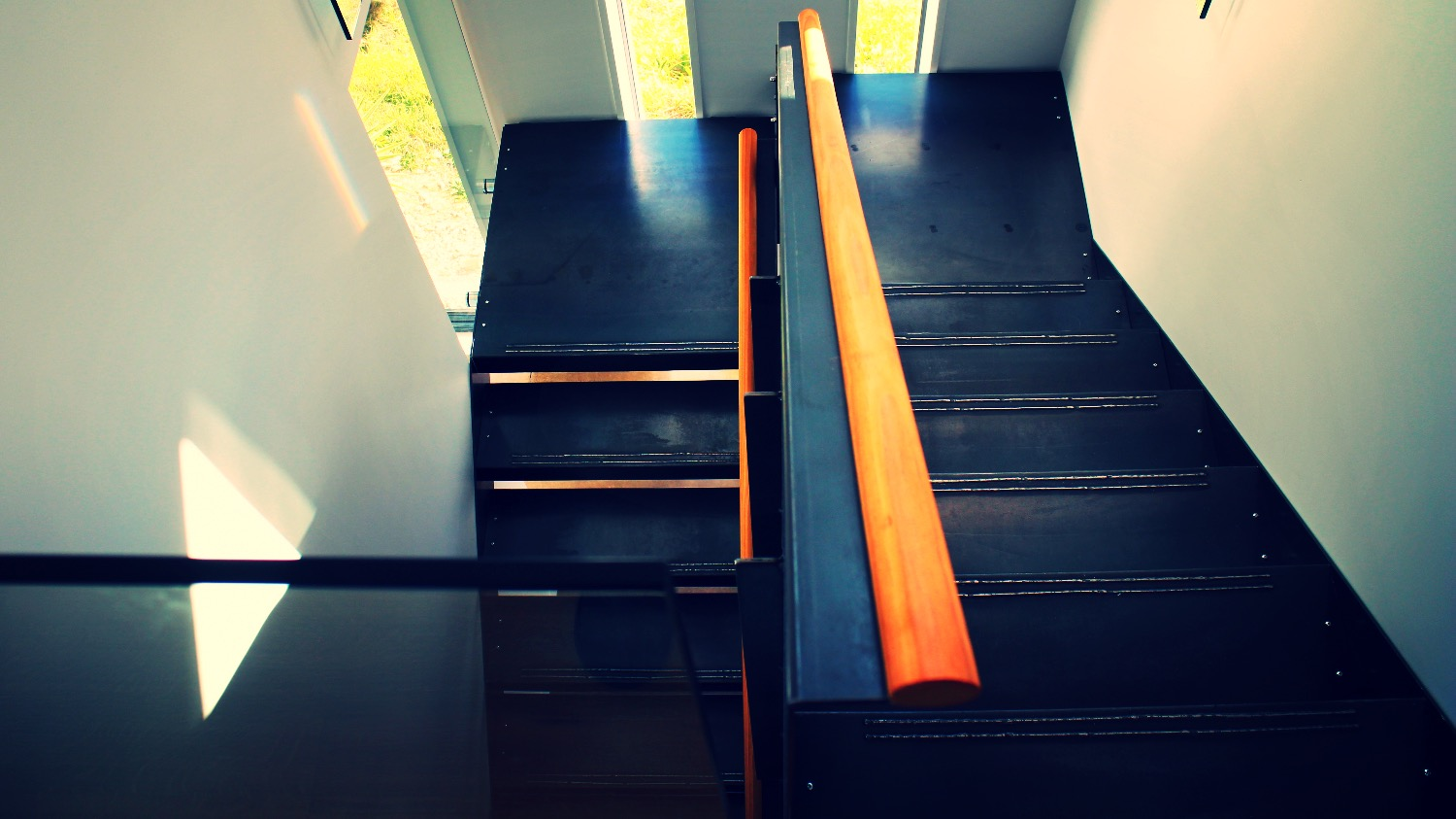 Custom Steel Stairs