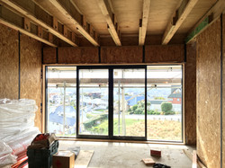 Sliding windows in main lounge