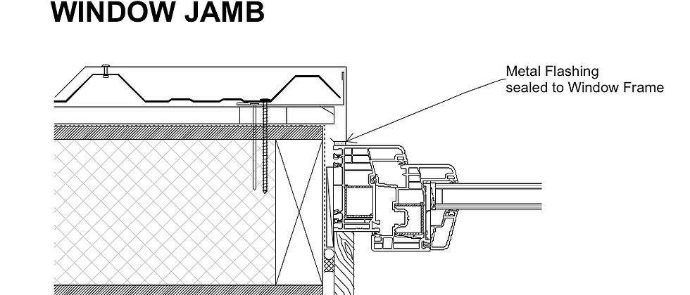 Window Jamb Rebated PVC