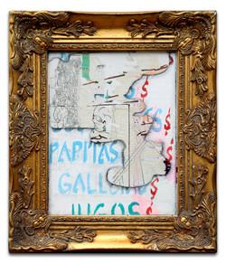 untitled 2, 2020 framed #barrioPOP cande aguilar