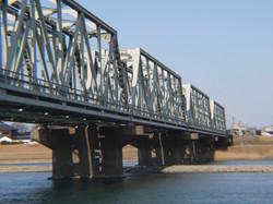 JR北陸線美川鉄橋