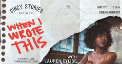 Cincy Stories_WIWT_Lauren Eylise_Facebook Event
