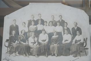Julian Renfro Mortuary School Class Picture
