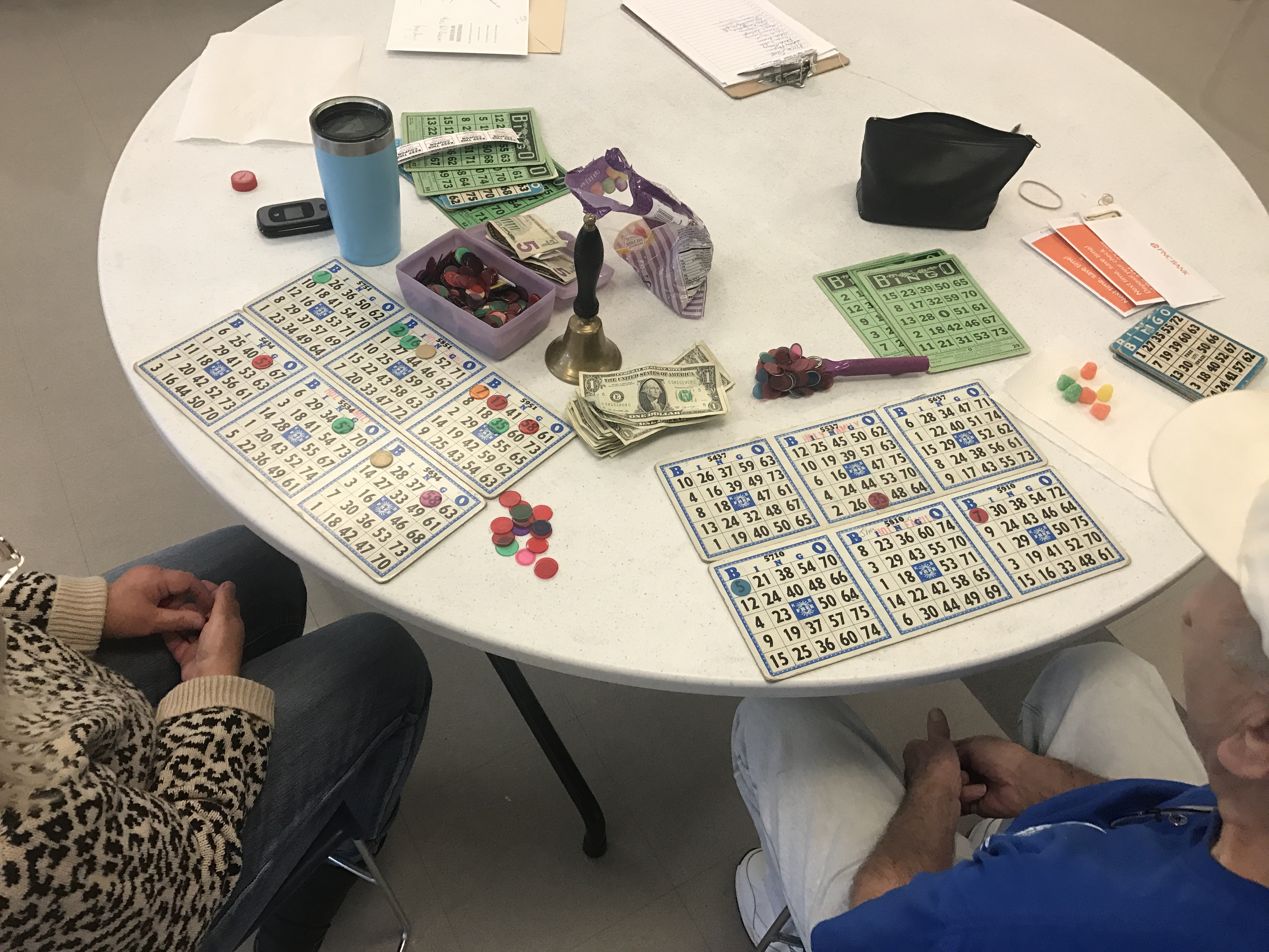 Bingo at Rec Center