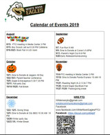 Fall 2019 Calendar of PTO Events