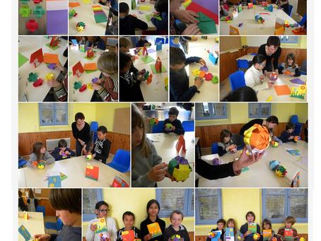 Les ateliers Origami