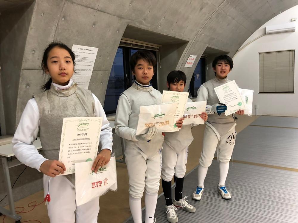 ゆうとくんガーデン大会初優勝おめでとう!