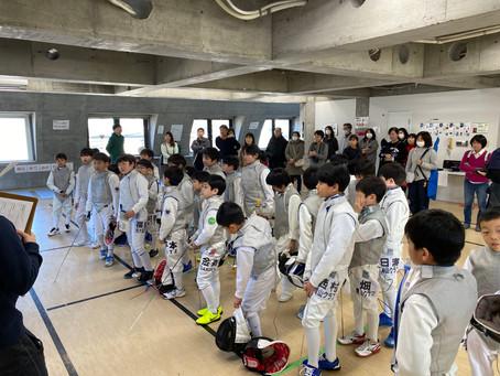 第4回東京ガーデン少年団体戦 フルーレ