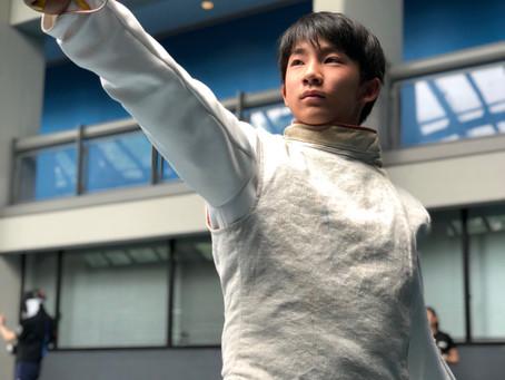 東日本フェンシング少年大会!1日目!