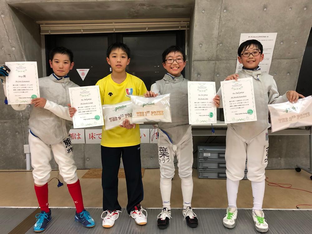 小学5・6年の部 入賞者