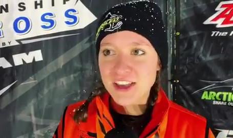 Snocross Podium Interview - Round 7