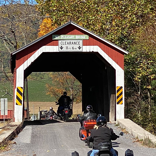 Terry's Red Covered Bridge Tour