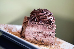 Single sliced cakes