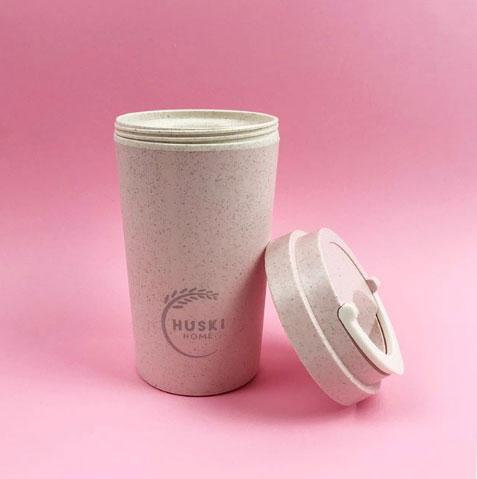 rice husk travel coffee cup (400 ml)