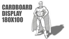 Cardboard Display Illustration For IGBCE