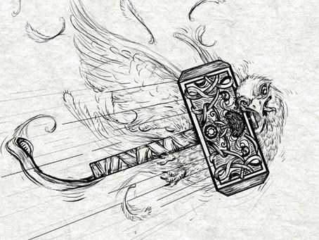 Thor Throwing Mjölnir