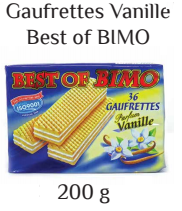 Best of BIMO Vanilla 36 count (200g)