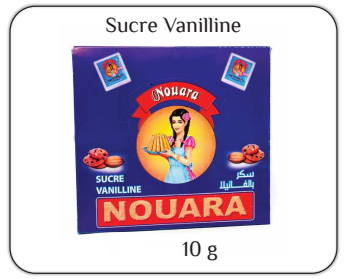 Nouara vanilla powder 10g