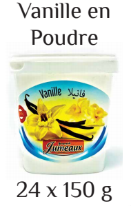 Vanilla powder Jumeaux 150g