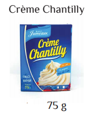 Jumeaux chantilly powder 75g