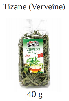 dried verveine tea 40g