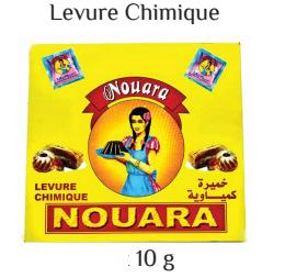 Nouara baking powder 10g