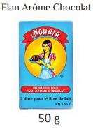Nouara flan chocolate 50g