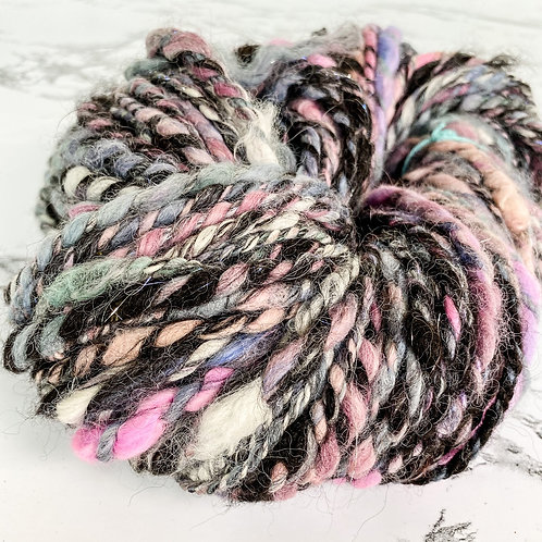 Lilac + Mauve Art Yarn - 88 yd