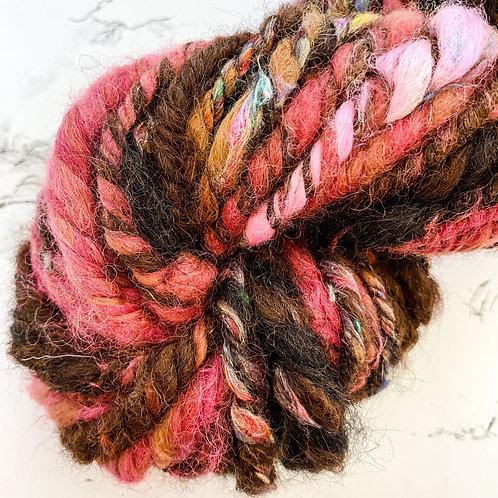 Red Velvet Art Yarn - 29 yd