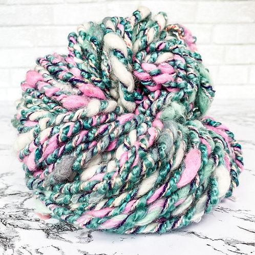 Mint Berry Art Yarn - 48 yd