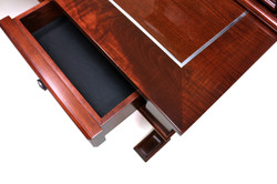 LEATHER LINED DRAWERS