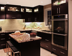 ESPRESSO PAINTED CABINETRY