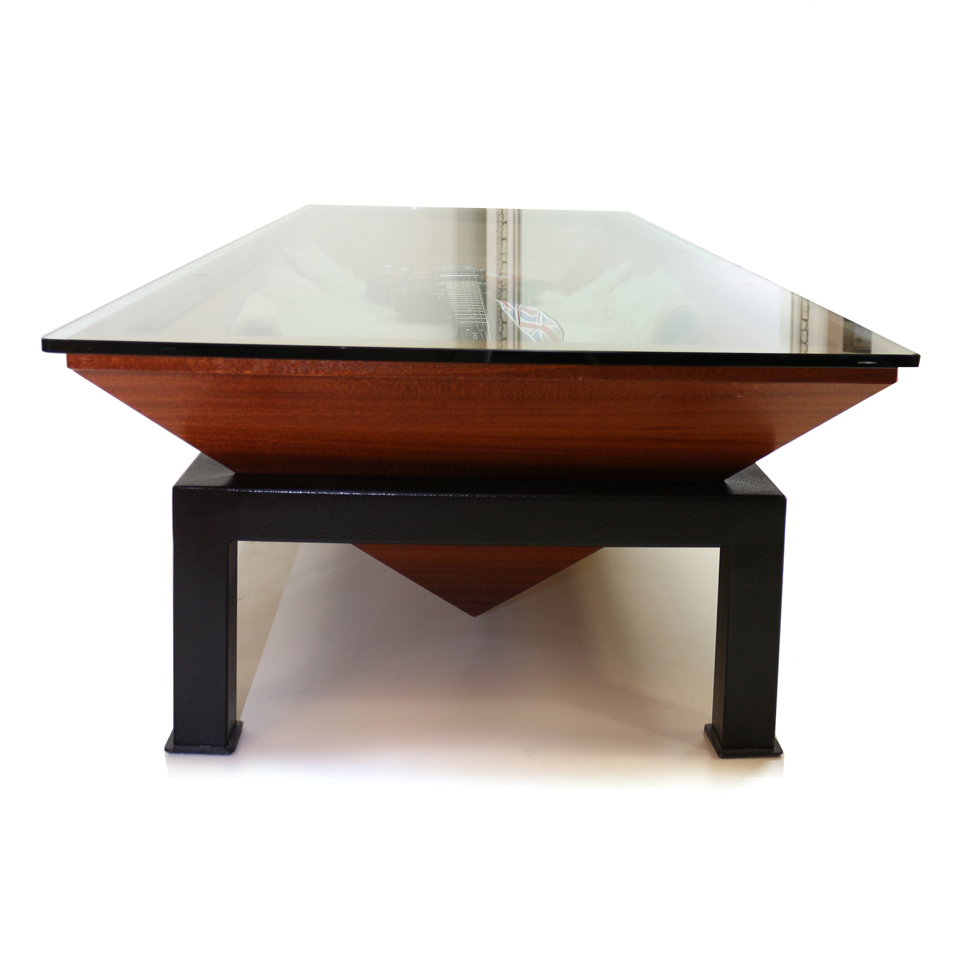 Triangle Shaped Table Side