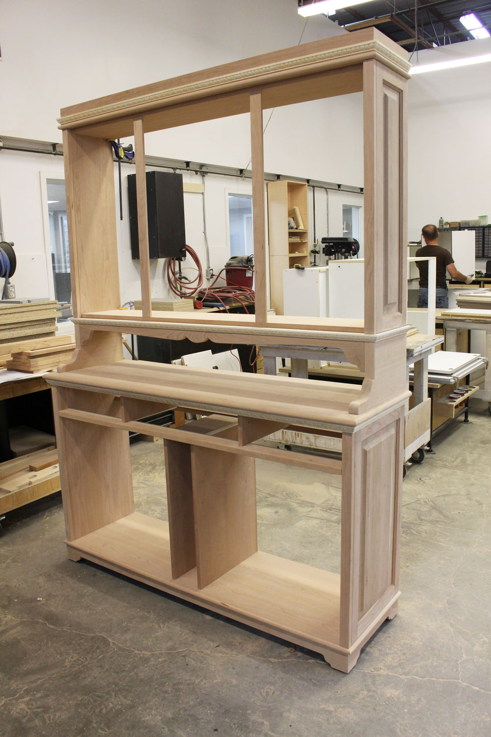 CABINET DURING THE BUILD