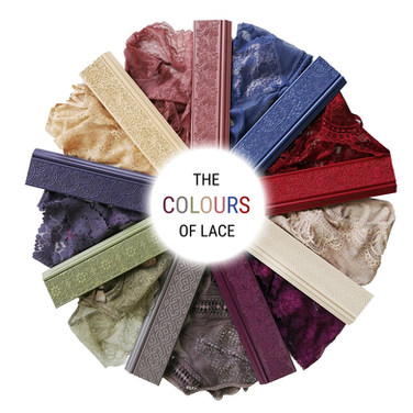 THE COLOURS OF LACE