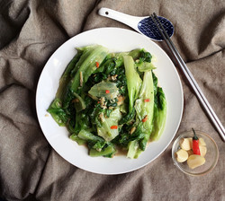 Sauteed Chinese Lettuce
