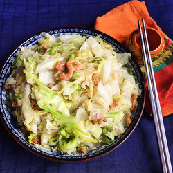 Cabbage with Glass Noodles