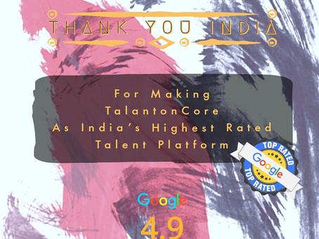 Thank You India!
