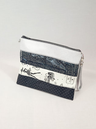 """PARIS"" Pochette Patchwork"