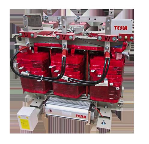 Transformador Trifásico Seco Clase H 225 kVA Serie 1.1 / 1.1 kV. Factor K9 y Bajas Pérdidas con ventilación Forzada.s