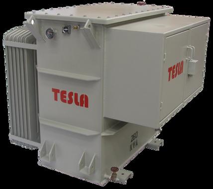 Transformador Trifásico de frecuencia Variable (SUT) 260 kVA Serie 5 kV