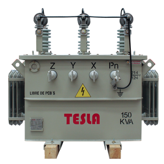 Transformador Trifásico Convencional 150 kVA Serie 15/1.2kV