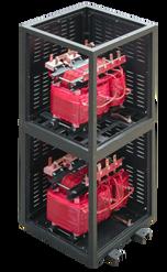 Módulo de protección IP 20 de 2 transformadores 150 kVA Serie 1.1/1.1kV para uso de espacios reducidos