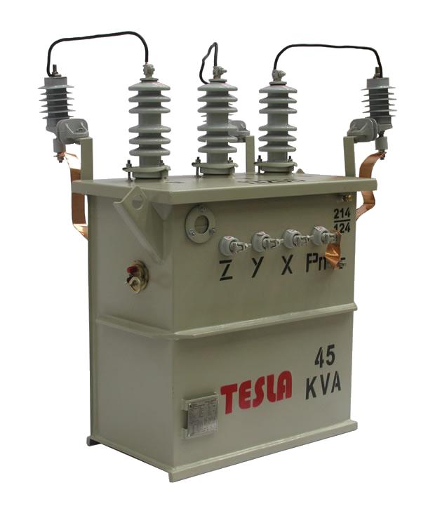Transformador Trifásico Convencional 45 kVA Serie 15/1.2kV Autoprotegido