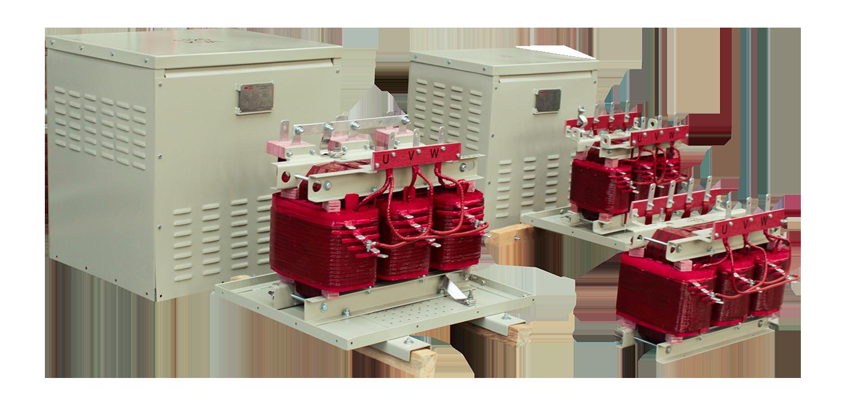 Gabinete de protección IP 20 Para tranasformadores de 112,5 kVA Serie 1.1/1.1kV