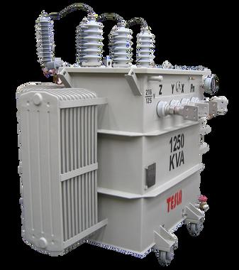 Transformador Trifásico Convencional 1250 kVA Serie 34.5/1.2kV