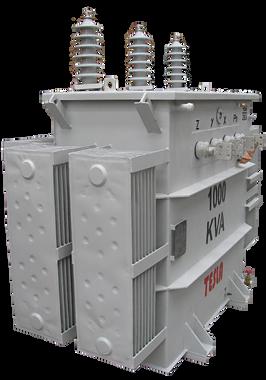 Transformador Trifásico Convencional 1000 kVA Serie 34.5/1.2kV