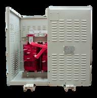 Gabinete de protección IP 20 Para Transformador 300 kVA Serie 1.1/1.1kV