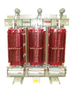 Transformador Trifásico Seco Clase H 1000 kVA serie 15 / 1.1 kV