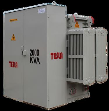 Transformador Trifásico Tipo pedestal Radial 2000 kVA Serie 15 /1,2 kV